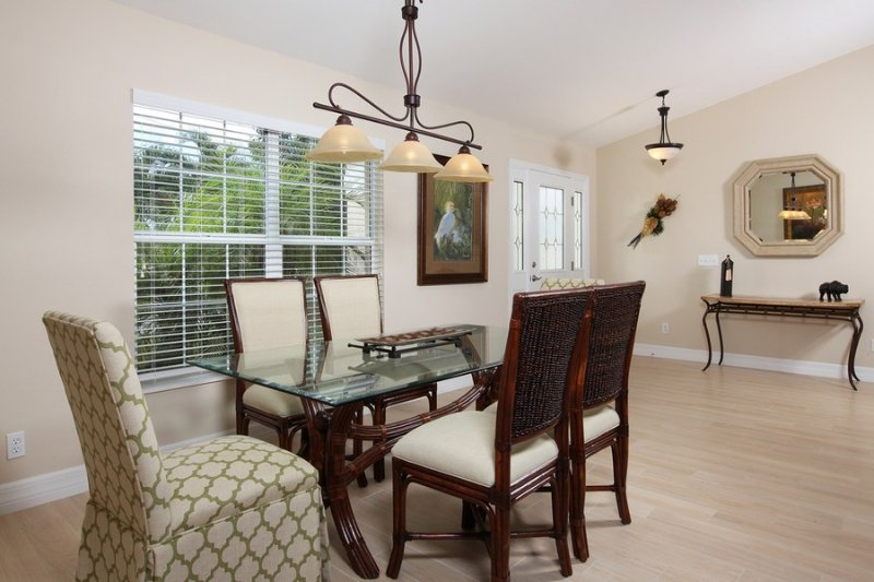 Dining room - Seagrape Dr, 648 - Marco Island - rentals