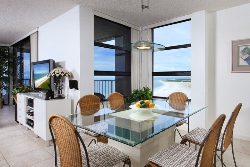 Dining Area - Royal Seafarer - RS2004 - On the Gulf of Mexico! - Marco Island - rentals