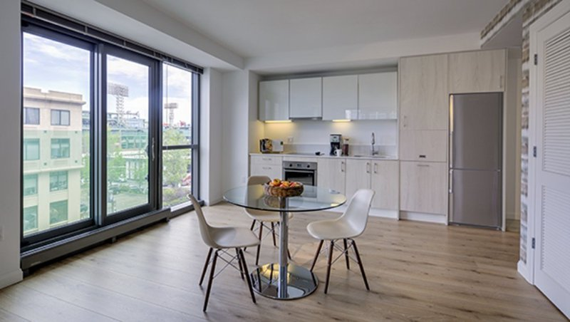 Furnished 1-Bedroom Apartment at Boylston St & Jersey St Boston - Image 1 - Boston - rentals
