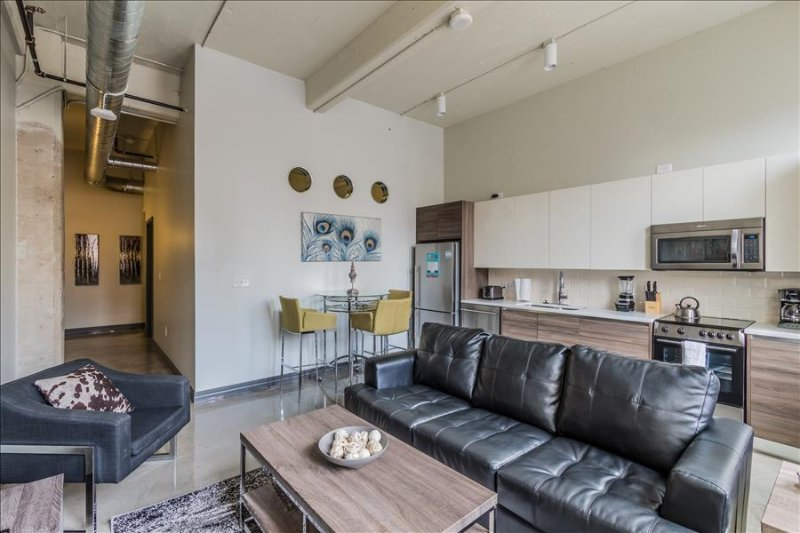 Stay Alfred Upscale Urban Vacation Rental in Newly Redeveloped Building BB2 - Image 1 - Dallas - rentals