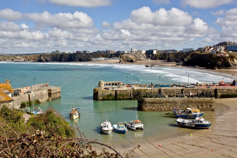 1 Harbour View located in Newquay, Cornwall - Image 1 - Newquay - rentals