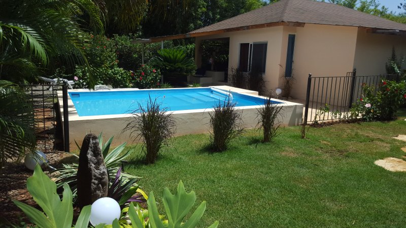 2 bed. bungalow with pool, terrace, dreaming - Image 1 - Sosua - rentals