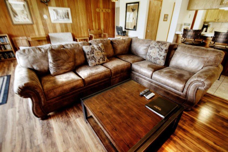 "SkyRun Property - ""2070 The Pines"" - Living Room - 2070 The Pines - Keystone - rentals"