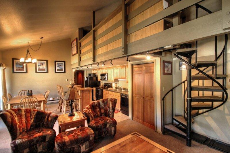"SkyRun.com Property - ""1026 Wild Irishman"" - Living Area - 1026 Wild Irishman - Keystone - rentals"