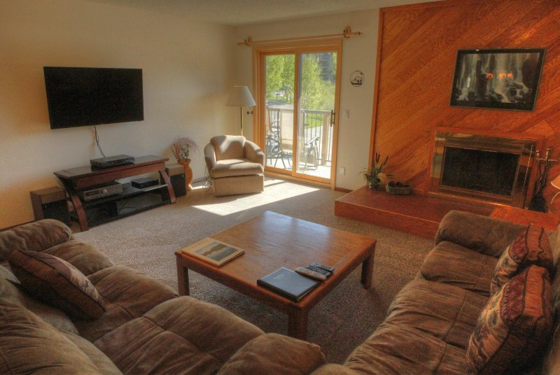 "SkyRun Property - ""SDC203 Snowdance"" - Living room - SDC203 Snowdance - Keystone - rentals"