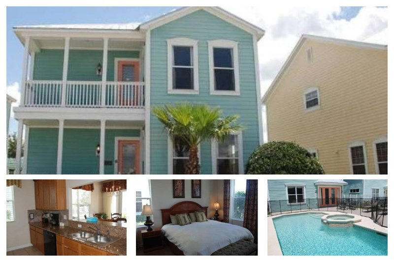 Fantastic 4 bedroom Reunion Resort vacation rental with private pool and spa close to all Reunion amenities and Disney - Image 1 - Loughman - rentals