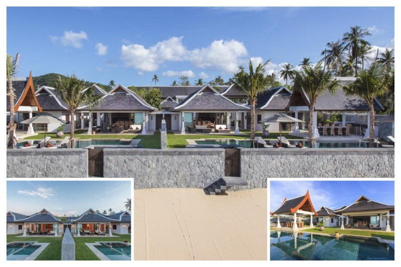 S14207 - SIDE-BY-SIDE BEACHFRONT VILLAS - Image 1 - Mae Nam - rentals