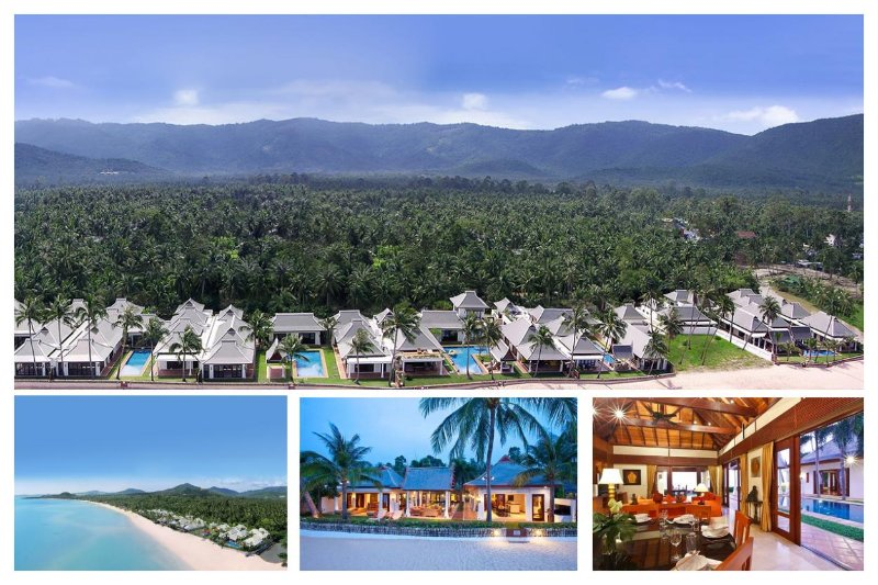 S38208 - 8 SIDE-BY-SIDE BEACHFRONT VILLAS - Image 1 - Mae Nam - rentals