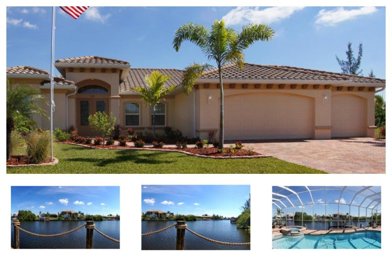 Perfectly private family vacation home-Wonderful heated pool- 3 bedrooms-Eastern exposure - Image 1 - Cape Coral - rentals