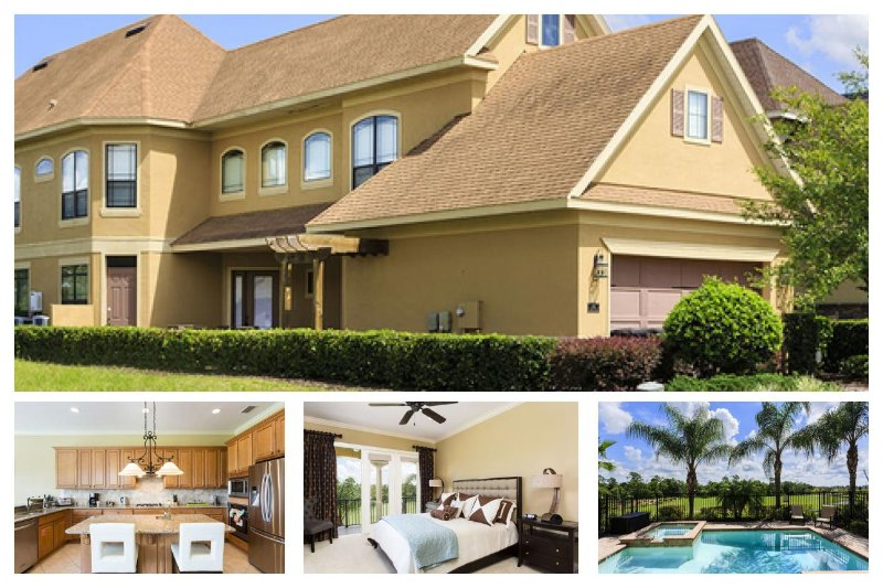 Luxurious villa with 6 bedrooms, 4.5 bathrooms, gorgeous golf views, games room, WiFi - Image 1 - Reunion - rentals
