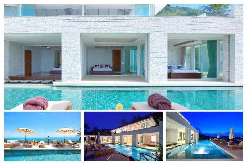 Bang Por 4214 - Large Pool And Panoramic Sea Views - Image 1 - Ban Bang Makham - rentals