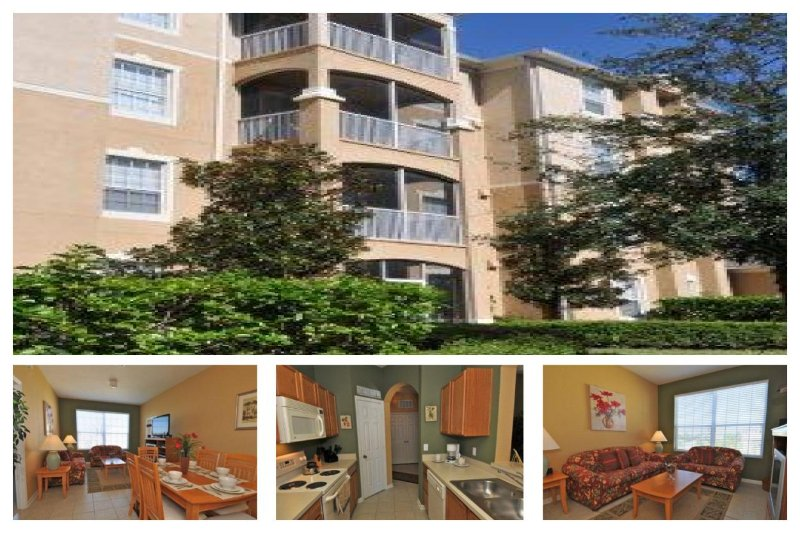 Stunning 3 Bed Condo - Just 2 Miles From Disney! - Image 1 - Four Corners - rentals