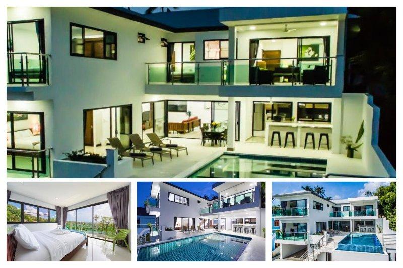 Lamai 6225 - Infinity-Edge Pool And Seaviews - Image 1 - Lamai Beach - rentals