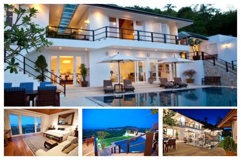 Bophut 3129 - Infinity-Edge Pool And Seaviews - Image 1 - Mae Nam - rentals
