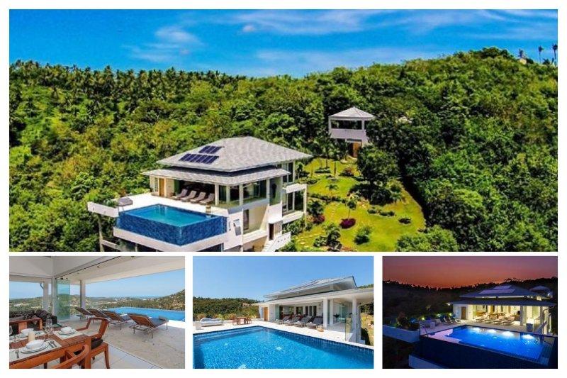 Bophut 5227 - Infinity-Edge Pool And Seaviews - Image 1 - Mae Nam - rentals