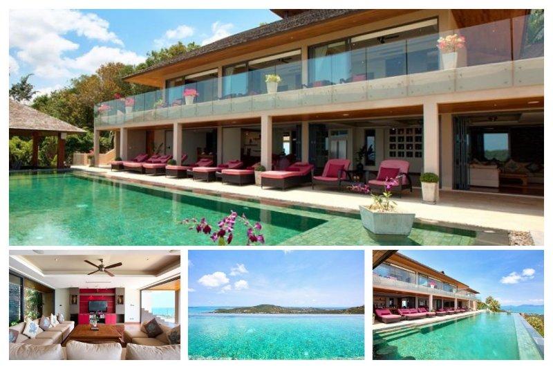 Bophut 5229 - Infinity-Edge Pool And Seaviews - Image 1 - Mae Nam - rentals