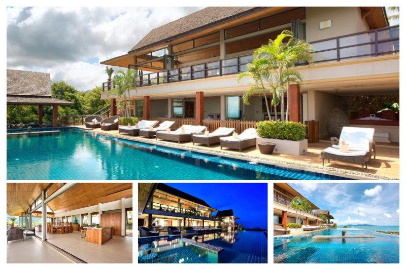 Bophut 5230 - Infinity-Edge Pool And Seaviews - Image 1 - Mae Nam - rentals