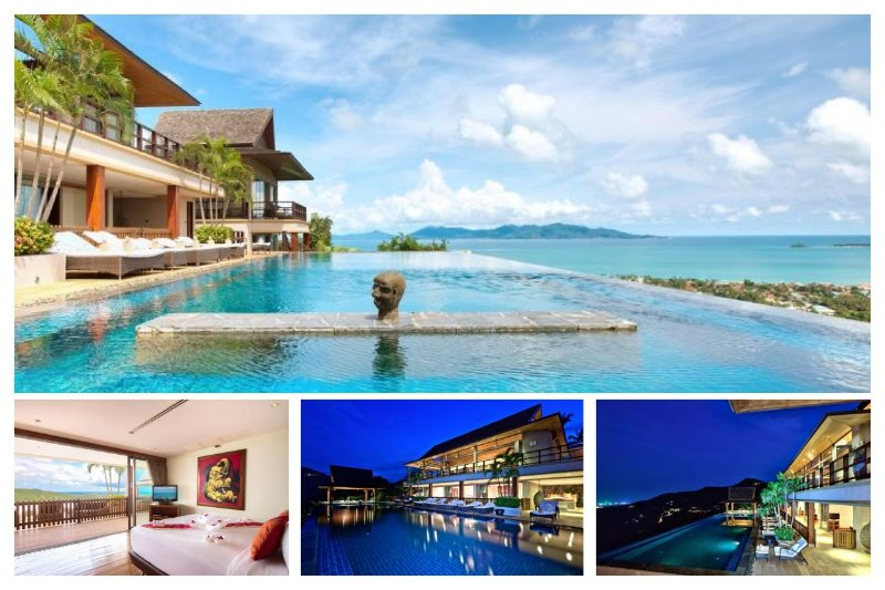Bophut 3230 - Infinity-Edge Pool And Seaviews - Image 1 - Mae Nam - rentals