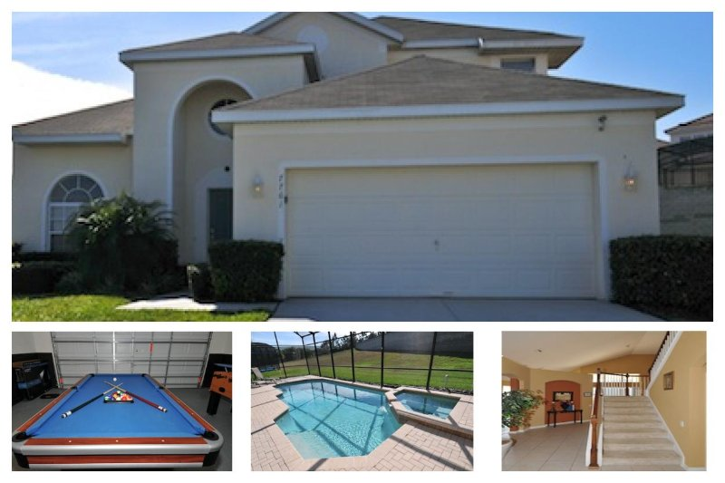 Luxury 6 Bed Home with Private Pool - Games Room - Image 1 - Four Corners - rentals