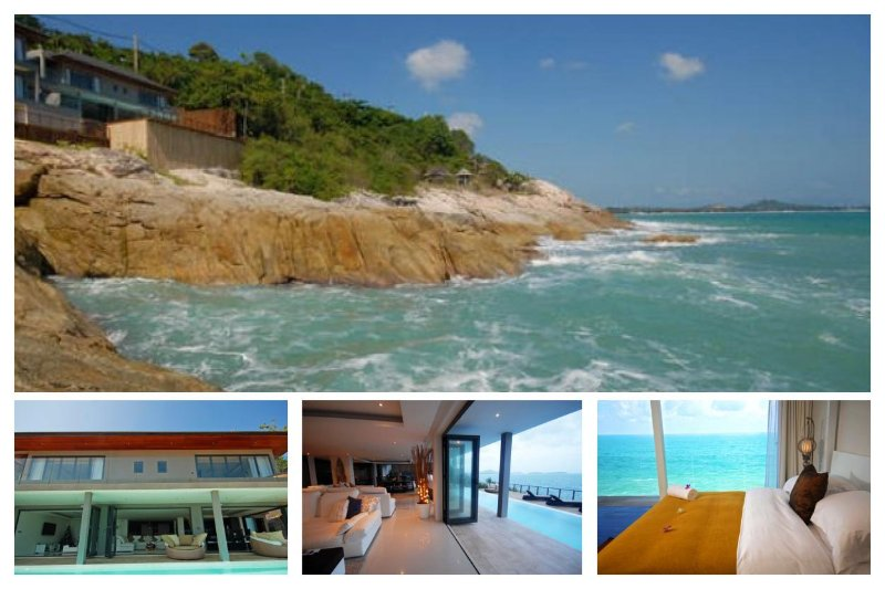 Chaweng 4103 - Luxury Waterfront With Chef Service - Image 1 - Chaweng - rentals