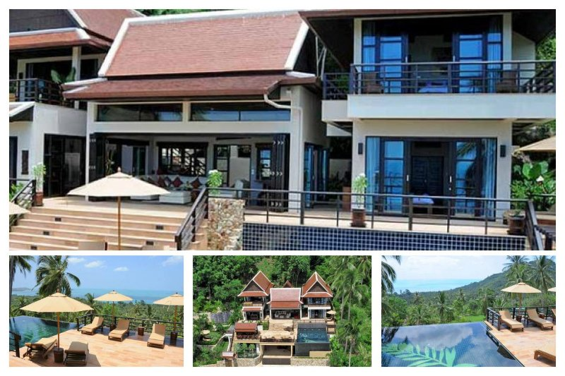 Chaweng 5108 - Infinity-Edge Pool and Chef Service - Image 1 - Lamai Beach - rentals