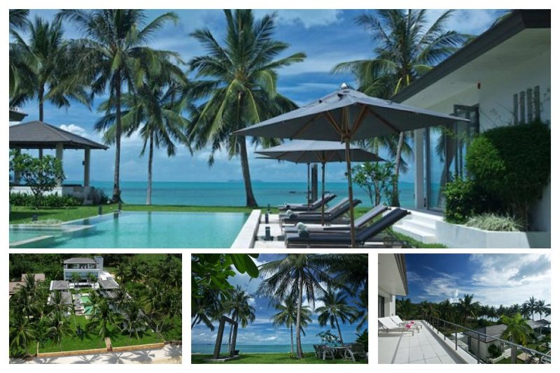 Taling Ngam 5076 - Luxury Beachfront With Chef - Image 1 - Taling Ngam - rentals