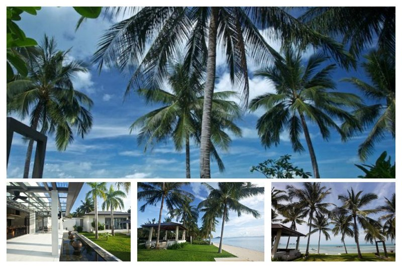 Taling Ngam 4076 - Luxury Beachfront With Chef - Image 1 - Taling Ngam - rentals