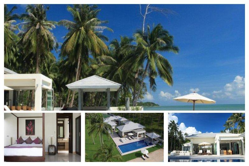 Laem Sett 3140 -Luxury Beachfront and Chef Service - Image 1 - Laem Set - rentals