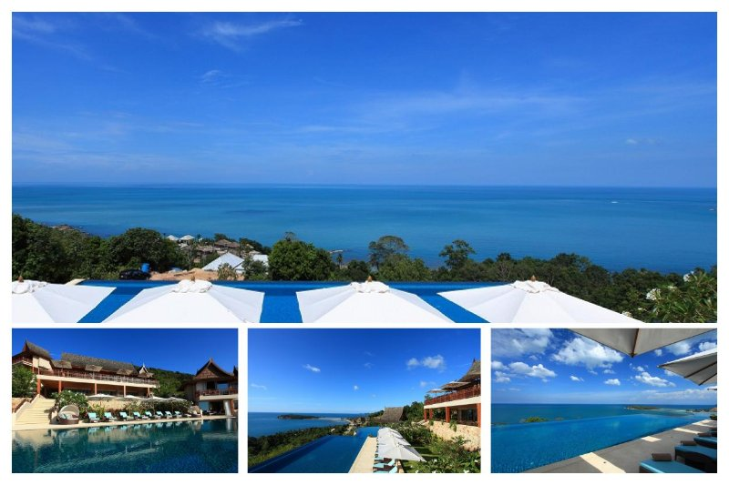 Chaweng 5142 - Luxury Seaview with Chef Service - Image 1 - Bophut - rentals