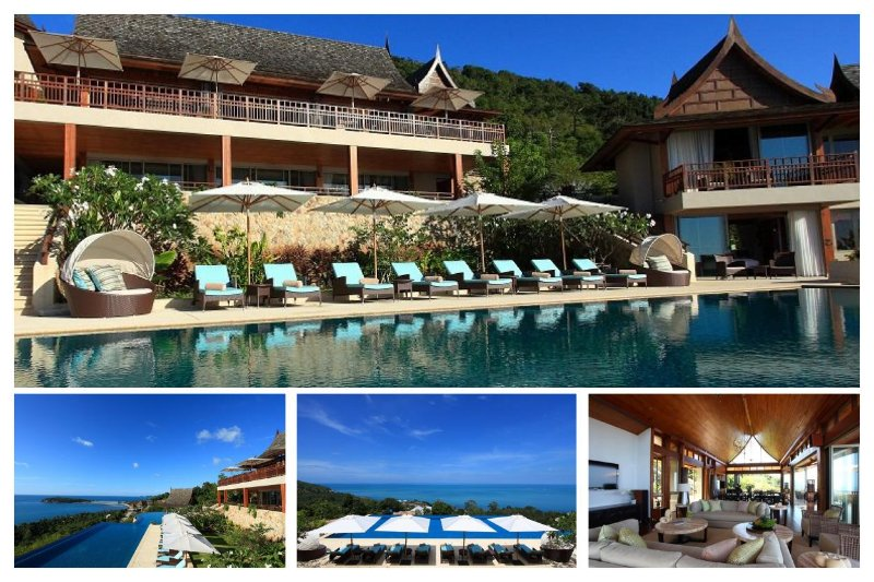 Chaweng 4142 - Luxury Seaview with Chef Service - Image 1 - Bophut - rentals
