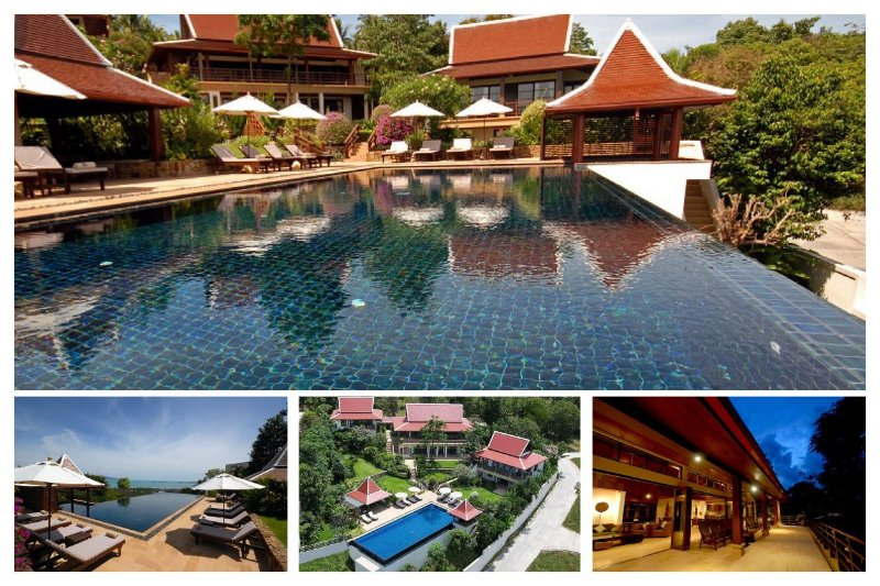 Bophut 4174 - Spacious With Large Pool And Chef - Image 1 - Mae Nam - rentals