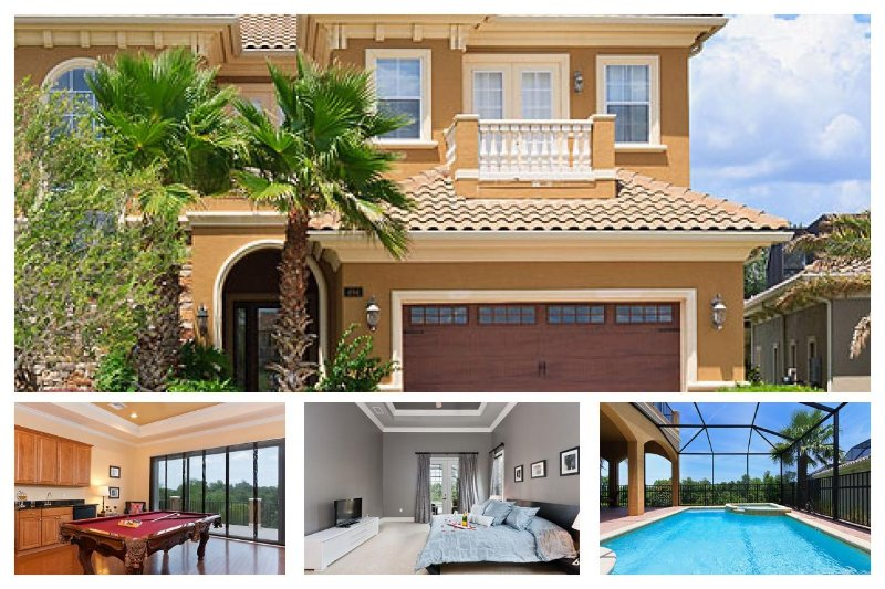 Luxurious 4 bed home with games room, cinema room, private pool with spa and BBQ - Image 1 - Reunion - rentals