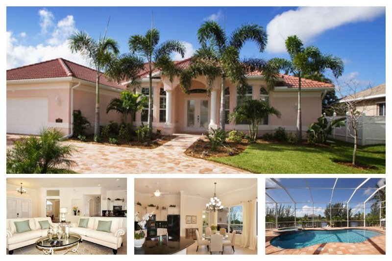 Amazing 4 Bedroom Cape Coral Vacation Rental with boat dock and private pool with hot tub. - Image 1 - Matlacha - rentals