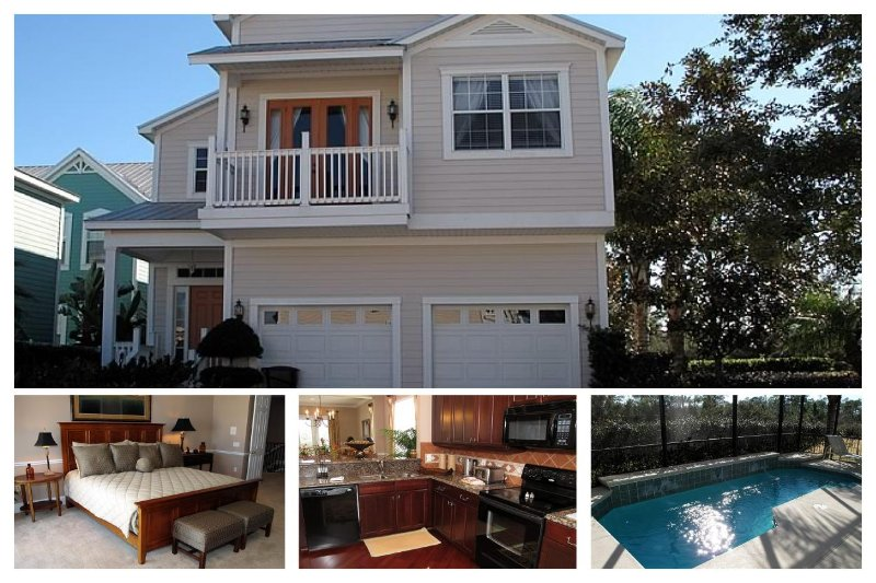 5 Bed, 3 bath home just minutes from Disney - Games room - Pool - Image 1 - Loughman - rentals
