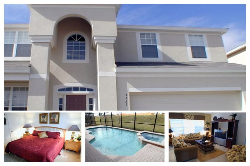 Luxury 6 Bed Family Home - Pool, 2 Miles to Disney - Image 1 - Four Corners - rentals