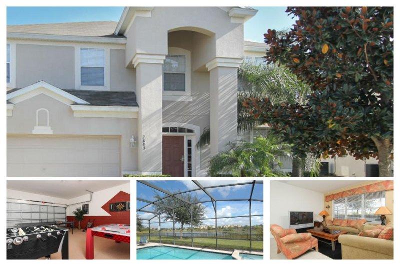 Luxury Family Villa - Lake View, 2 Miles To Disney - Image 1 - Four Corners - rentals