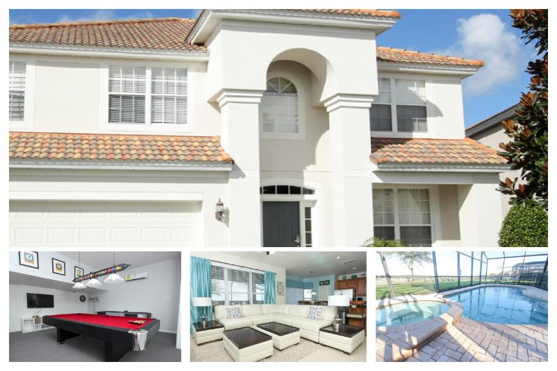 Modern 6 Bed Villa - Games Room, 2 Miles to Disney - Image 1 - Four Corners - rentals