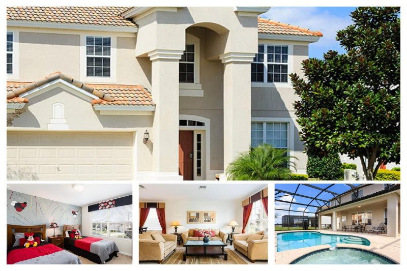 Luxury Family Villa with Pool - 2 Miles From Disney - Image 1 - Four Corners - rentals