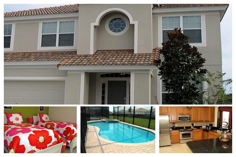 Modern 6 Bed Home with Private Pool, Games Room - Image 1 - Four Corners - rentals