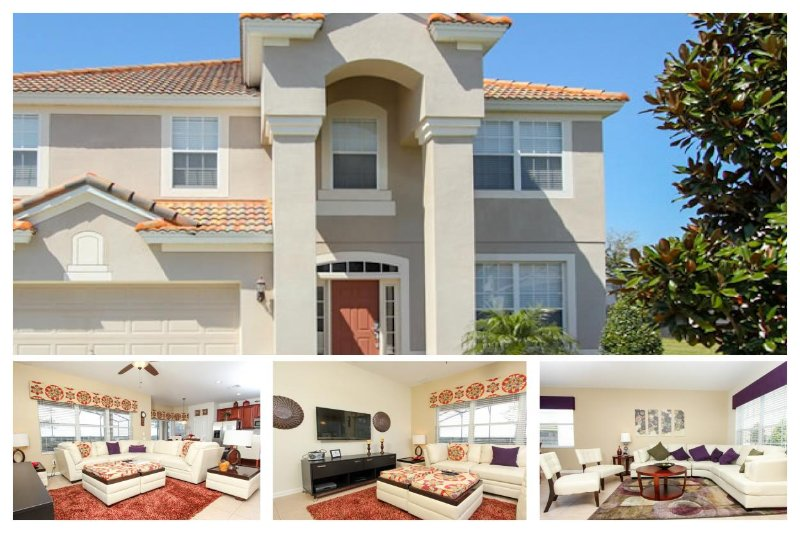 Luxury 6 Bed Home with Private Pool, Games Room - Image 1 - Four Corners - rentals
