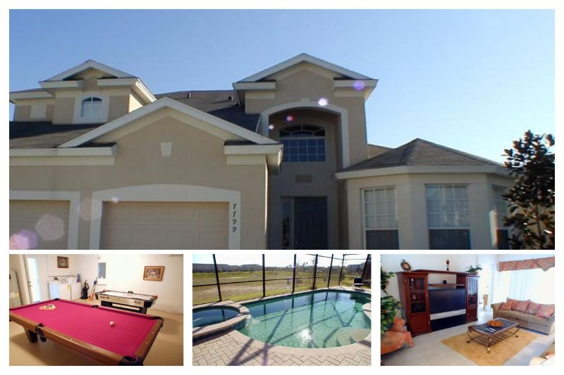 This 5 bedroom Windsor Hills vacation rental offers a luxury private pool and games room - Image 1 - Four Corners - rentals