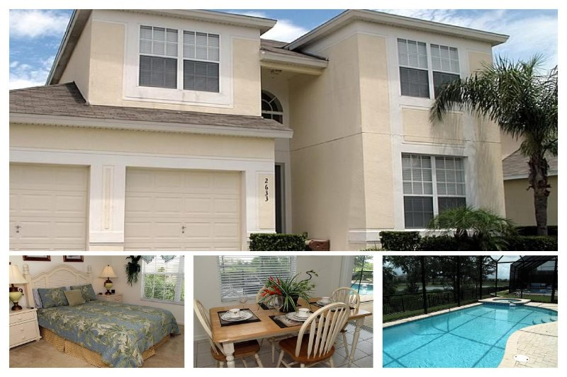 Fantastic 5 bedroom vacation rental includes amazing large private pool with spa - Image 1 - Reunion - rentals