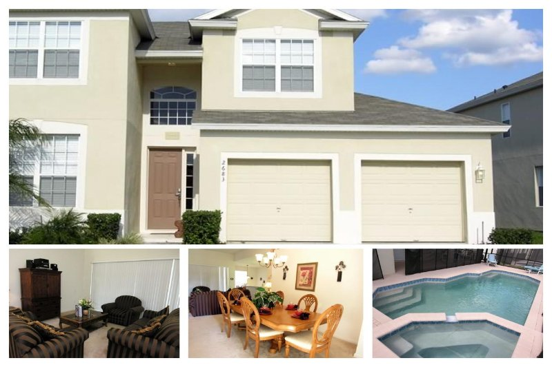 Cosy and luxirious 2 storey, 5 bedroom pool and spa home, close to Disney in Windsor Hills Resort. - Image 1 - Four Corners - rentals