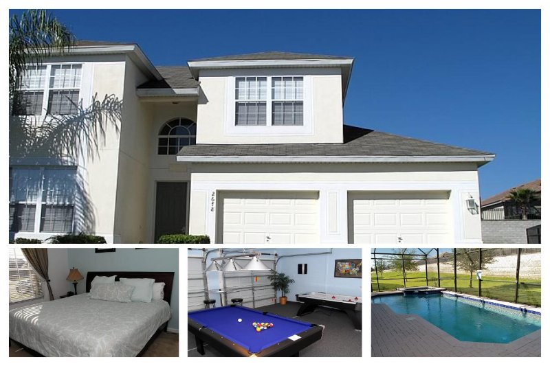 Featuring incredible furnishings, this villa includes 5 bedrooms, games room and private pool - Image 1 - Four Corners - rentals