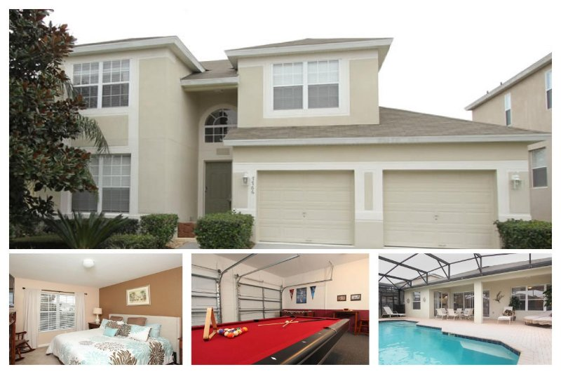 Beautiful 5 bedroom, 5 bathroom home with large community pool and private South facing pool. - Image 1 - Four Corners - rentals