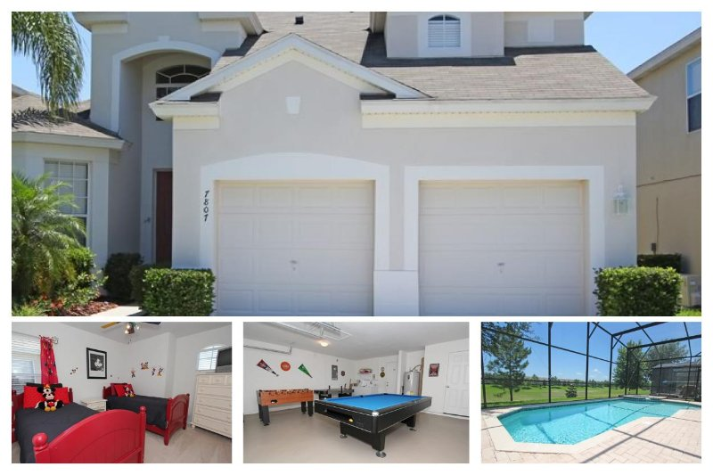 Gorgeous 5 bedroom, 5 bathroom vacation home in Windsor Hills. Pool, spa and loungers. - Image 1 - Four Corners - rentals