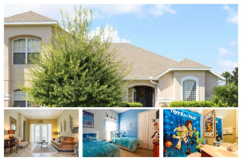 Luxury 5 Bed Home with Pool - Minutes from Disney! - Image 1 - Four Corners - rentals