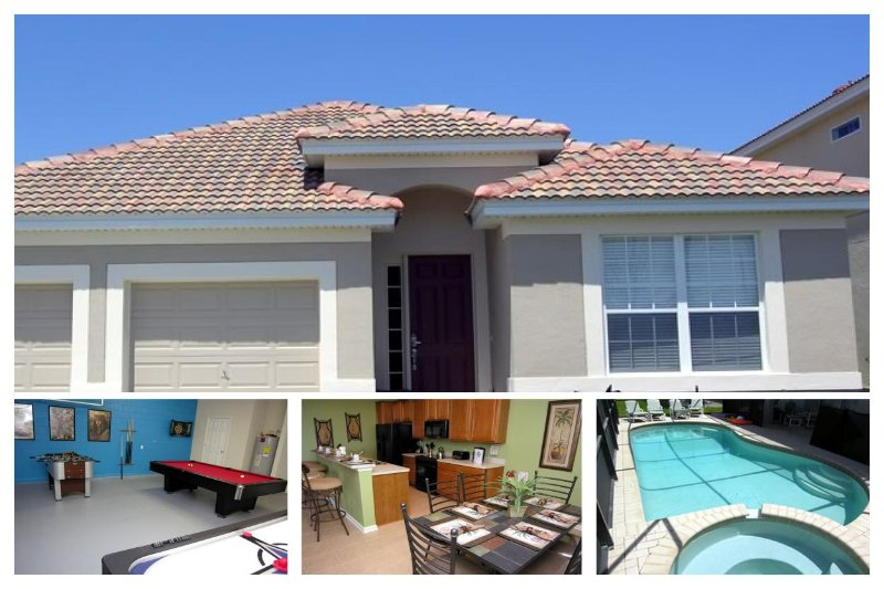 Nearby to local attractions, this 4 bedroom Windsor Hills home includes private pool and games room - Image 1 - Reunion - rentals