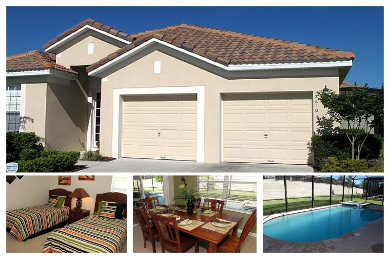 New 4 bedroom home in the Windsor Hills Resort area. Pool and jacuzzi. - Image 1 - Reunion - rentals