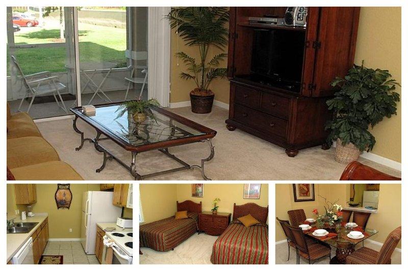 1st floor lovely and homely 3 bedroom 2 bathroom condo in Windsor Hills Resort - Image 1 - Four Corners - rentals